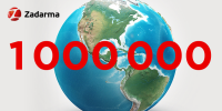 Zadarma million