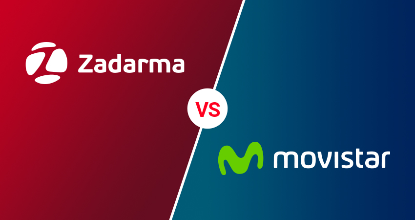 Centralita virtual de Movistar vs centralita virtual de Zadarma