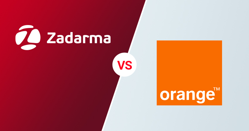 Wirtualna centrala Orange vs Zadarma