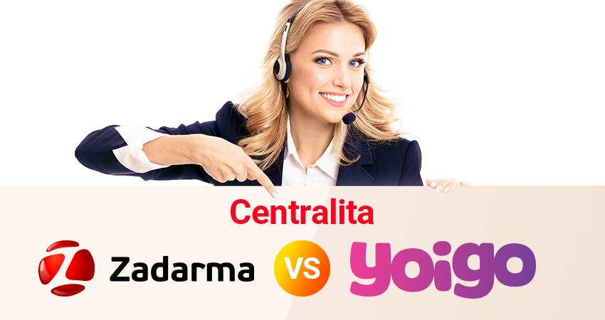 Centralita Virtual de Yoigo PRO vs Zadarma
