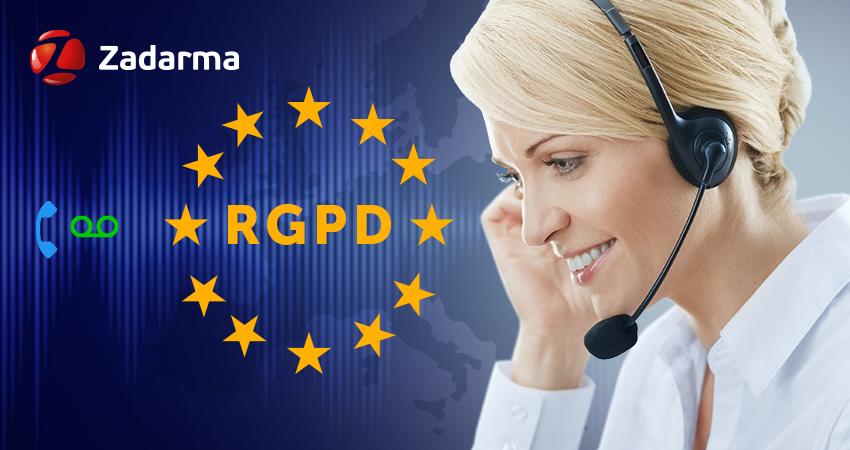 Grabar llamadas de teléfono RGDP