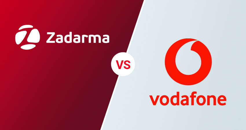 centralita virtual Vodafone vs Zadarma