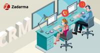 Zadarma API CRM
