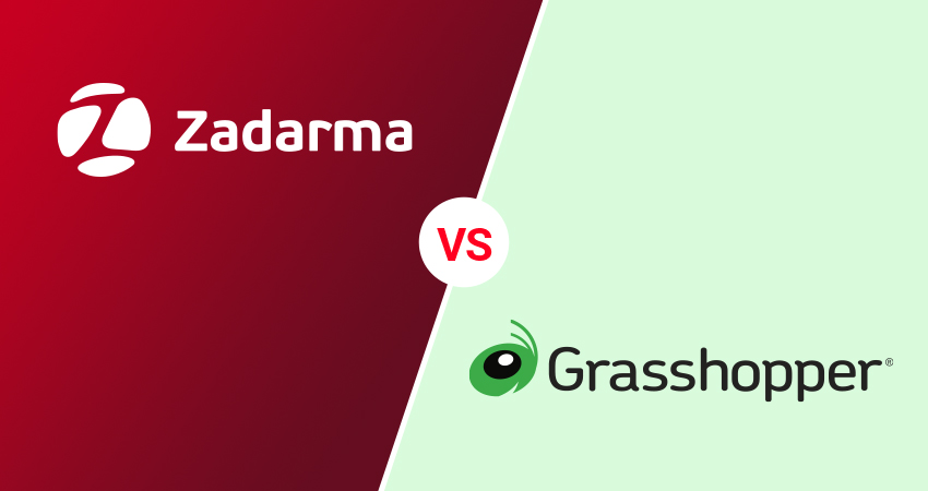 zadarma vs grasshopper