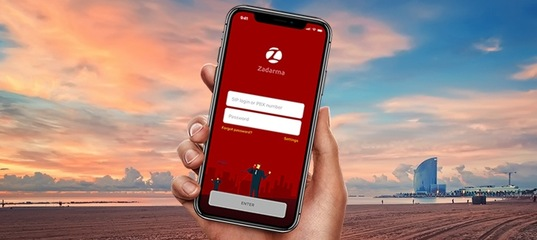 Zadarma iOS