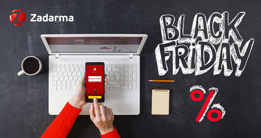 Zadarma Black Friday