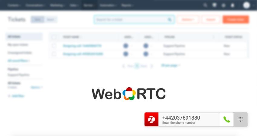 Zadarma WebRTC