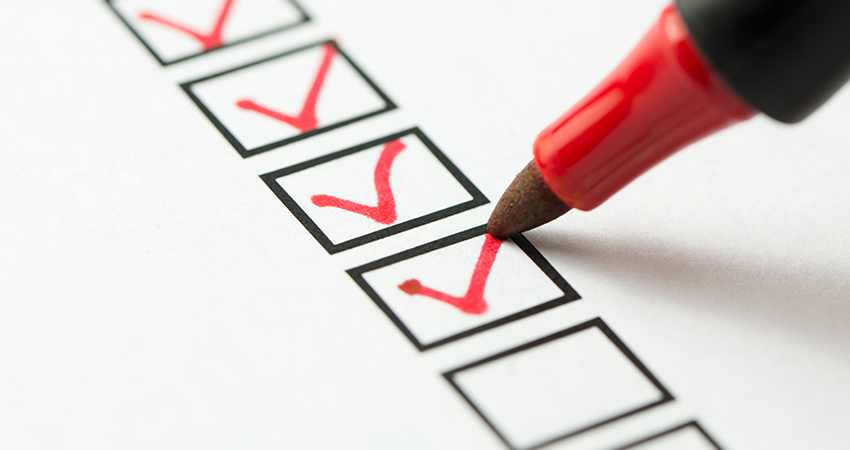 Checkliste für Callcenters.