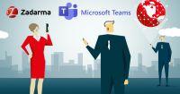 Zadarma - MS Teams integration