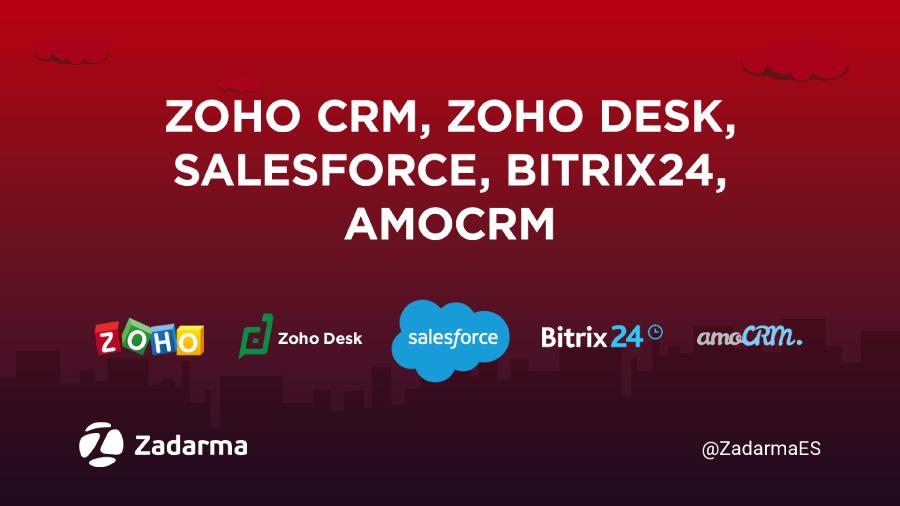 integración de CRM y Zadarma mediante API