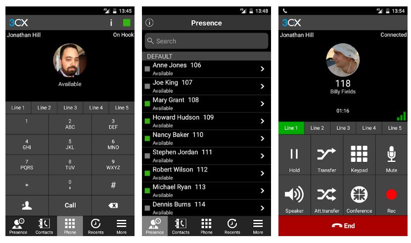 aplikacja 3CX