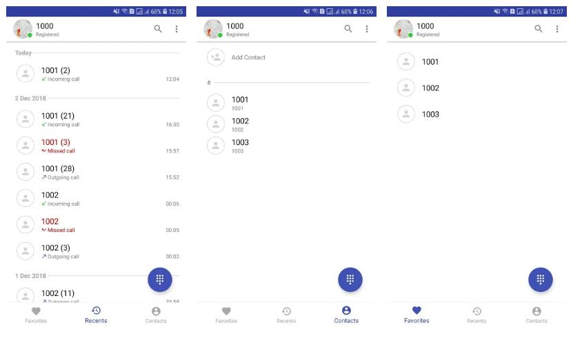 app de Calls – SIP VoIP Softphone