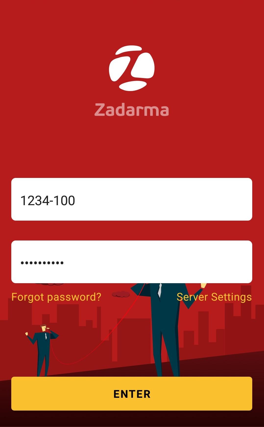 Zadarma Android