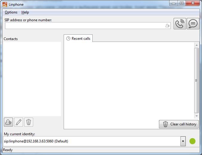 Zadarma: Linphone/Linux