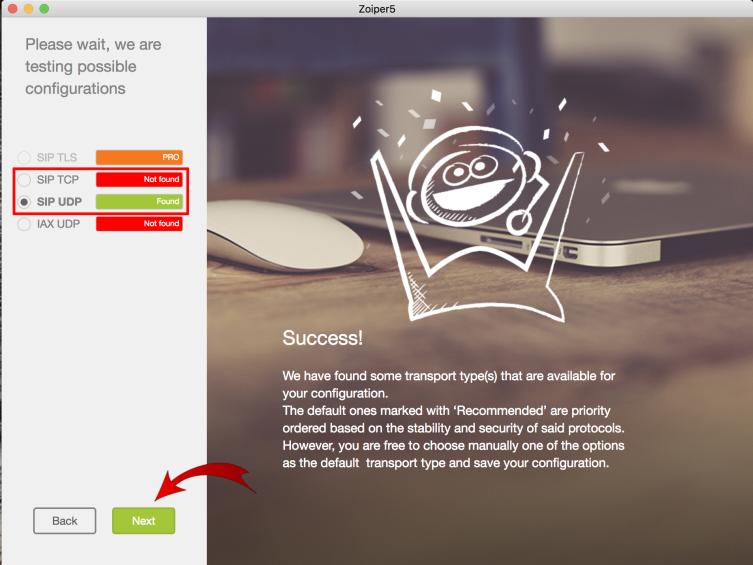 Zadarma: Zoiper on Mac OSX