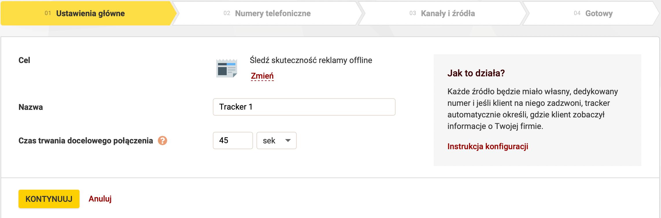 Calltracking Zadarma
